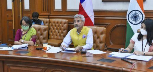 El Dr. S. Jaishankar, Ministro de Asuntos Exteriores de la República de la India.